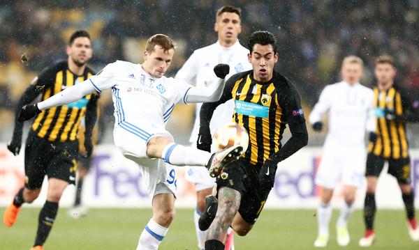 Ντιναμό Κιέβου-ΑΕΚ 0-0: Δεν σκόραρε και η πρόκριση «πάγωσε» στο Κιέβο