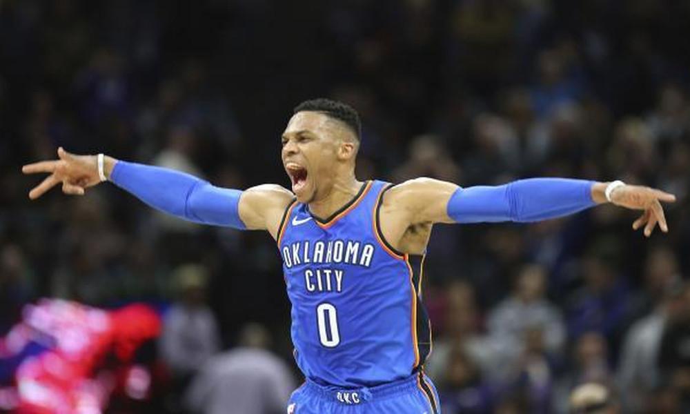 NBA: Το θρίλερ οι Θάντερ με buzzer beater για Ουέστμπρουκ
