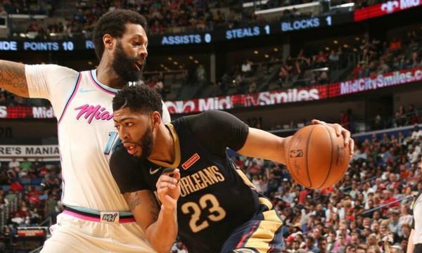 NBA: Μυθική 45άρα Ντέιβις για Πέλικανς, triple double ο ΛεΜπρόν (videos)
