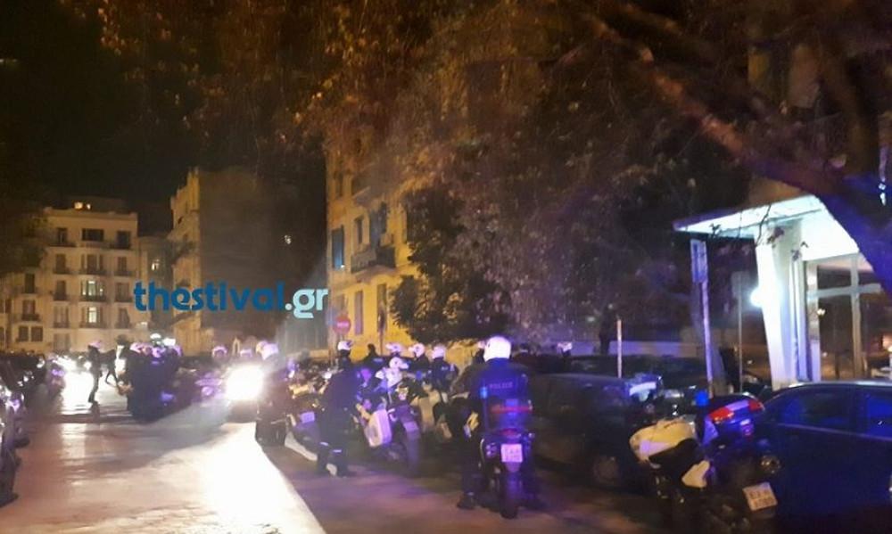 Έξι συλλήψεις στα επεισόδια οπαδών στο κέντρο της Θεσσαλονίκης