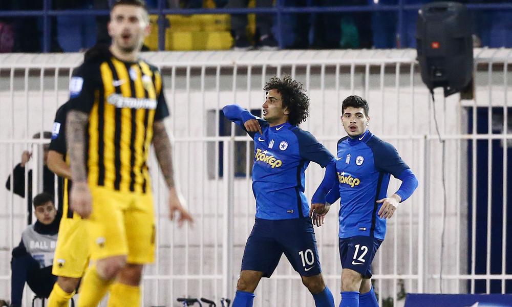 Ατρόμητος-ΑΕΚ 1-1: Τα γκολ του αγώνα (video)