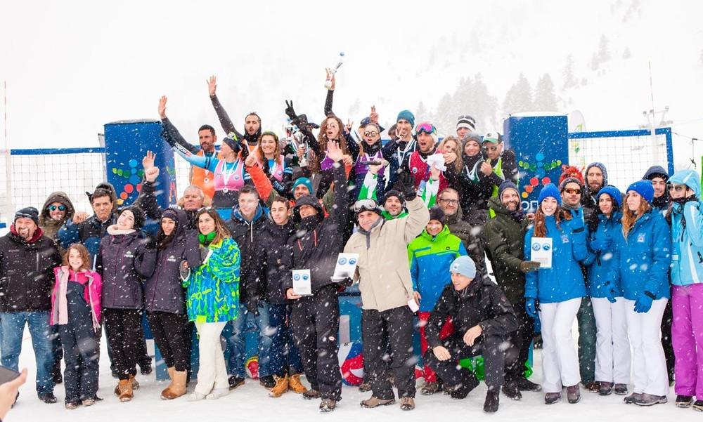 Μεγάλη επιτυχία για το 1ο Πανελλήνιο Πρωτάθλημα Snow Volley – Ο ΟΠΑΠ Μεγάλος Χορηγός της διοργάνωσης
