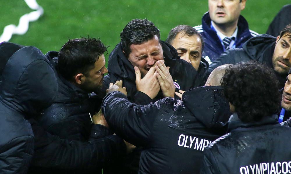 Ολυμπιακός: Η δήλωση του Γκαρθία για τα γεγονότα στην Τούμπα (photo)