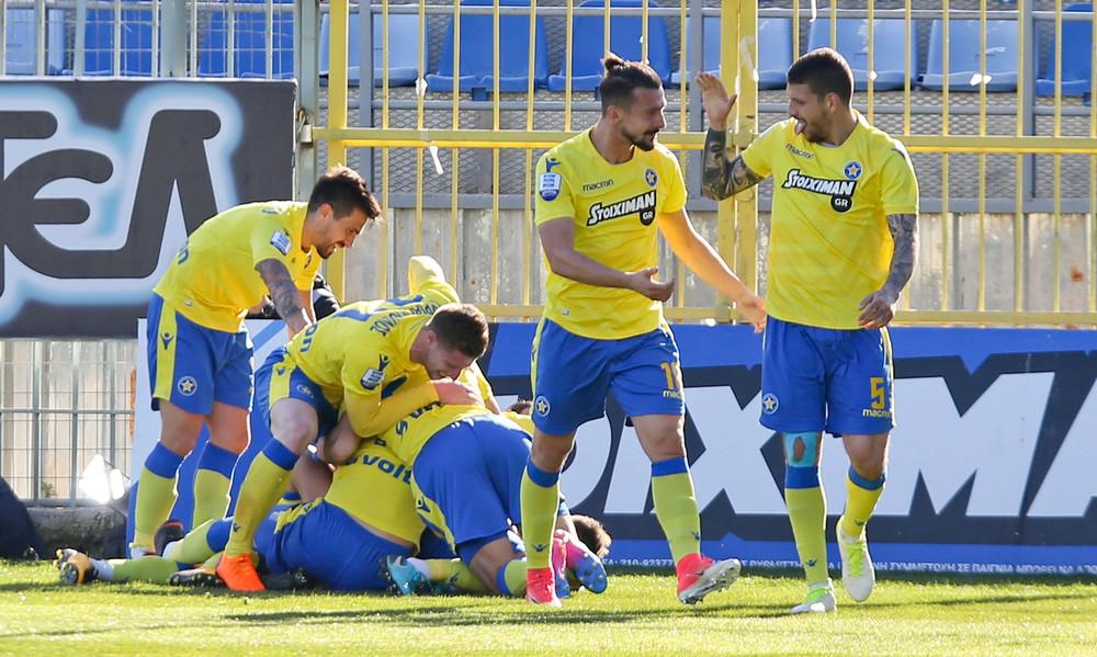 Αστέρας Τρίπολης-ΠΑΟΚ 3-2: Τα γκολ και οι φάσεις του αγώνα (video)