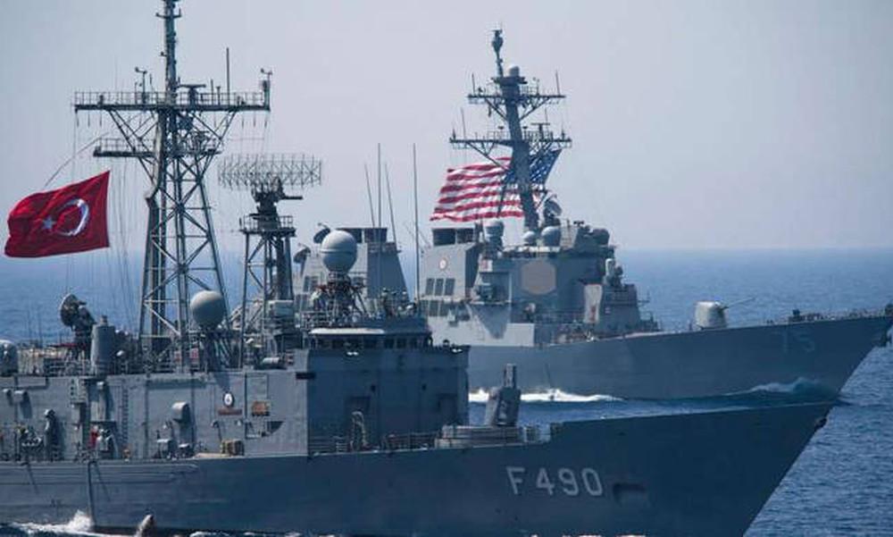 «Ναυμαχία» Αμερικανών -Τούρκων στην κυπριακή ΑΟΖ – Οι ΗΠΑ αγνοούν τις απειλές Ερντογάν
