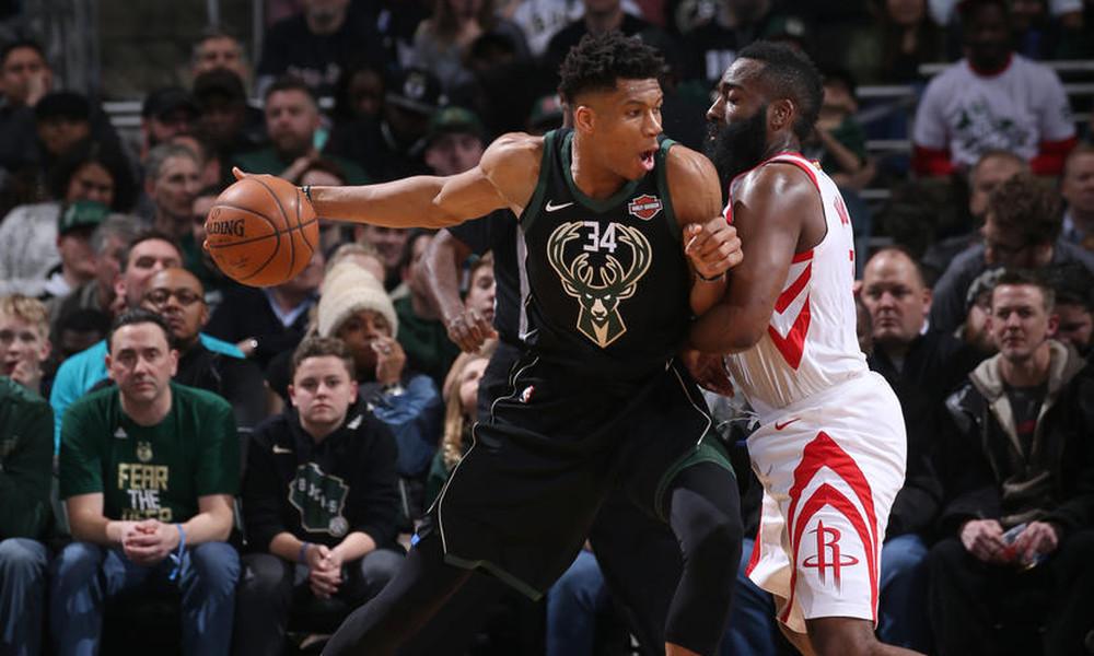NBA: Θετικός Αντετοκούνμπο, «Ρουκέτες» στο Μιλγουόκι (photos+video)
