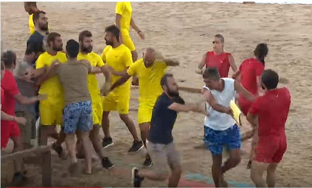 Κακός χαμός στο Survivor: Πιάστηκαν στα χέρια Τούρκοι-Ρουμάνοι  - Το βίντεο που δεν είδαμε ποτέ!