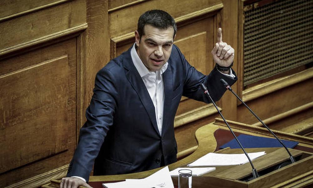 Βουλή - Αυστηρό μήνυμα Τσίπρα προς Τουρκία: Κανείς δεν μπορεί να παίζει με την Ελλάδα