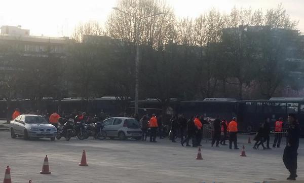 ΠΑΟΚ-ΑΕΚ: «Δρακόντεια» μέτρα ασφαλείας έξω από την Τούμπα (photos)