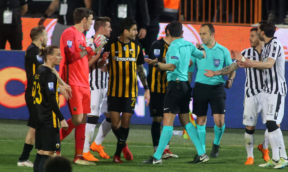 ΠΑΟΚ-ΑΕΚ: Οριστική διακοπή στην Τούμπα, μέτρησε το γκολ του Βαρέλα!