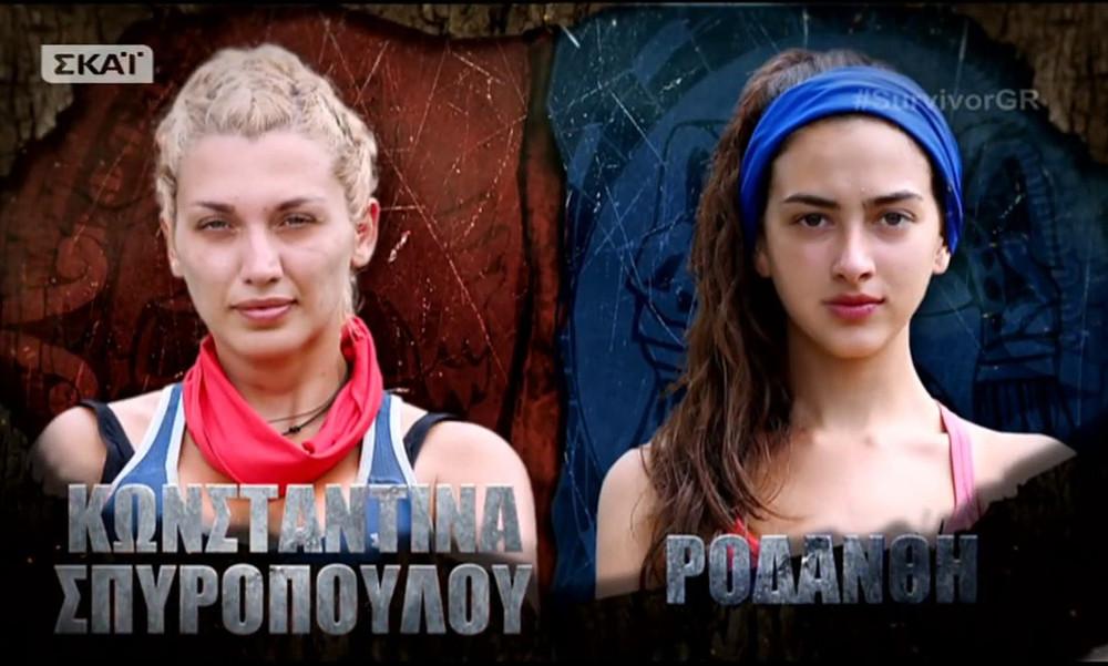 Survivor 2: Όργια στο Twitter για Ροδάνθη και επίθεση στην Σπυροπούλου (photos)