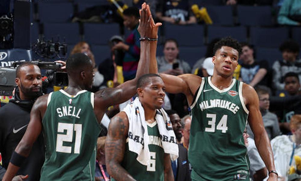 NBA: Βόλτα των Μπακς στο Μέμφις (photos+video)