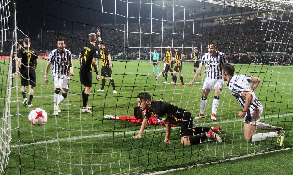 Τι λέει η UEFA για το γκολ του Βαρέλα στο ΠΑΟΚ - ΑΕΚ! (photo+video)
