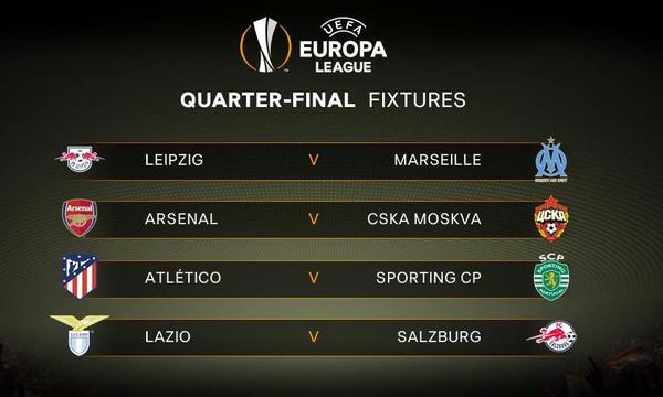 Europa League: Το πρόγραμμα των προημιτελικών