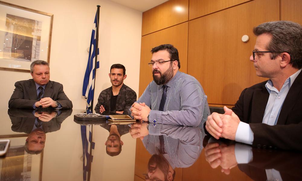 Ολοκληρώθηκε η συνάντηση του Γ. Βασιλειάδη με τους εκπροσώπους του ΠΣΑΠ (photos)