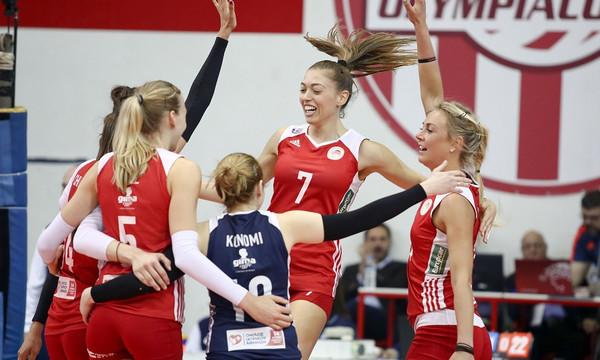 Στον τελικό του Challenge Cup Γυναικών ο Ολυμπιακός
