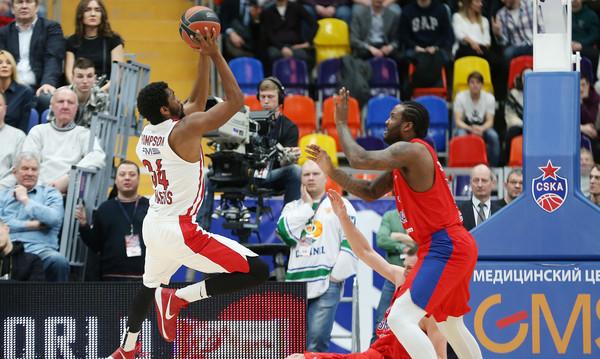 «Πάγωσε» στη Μόσχα ο Ολυμπιακός
