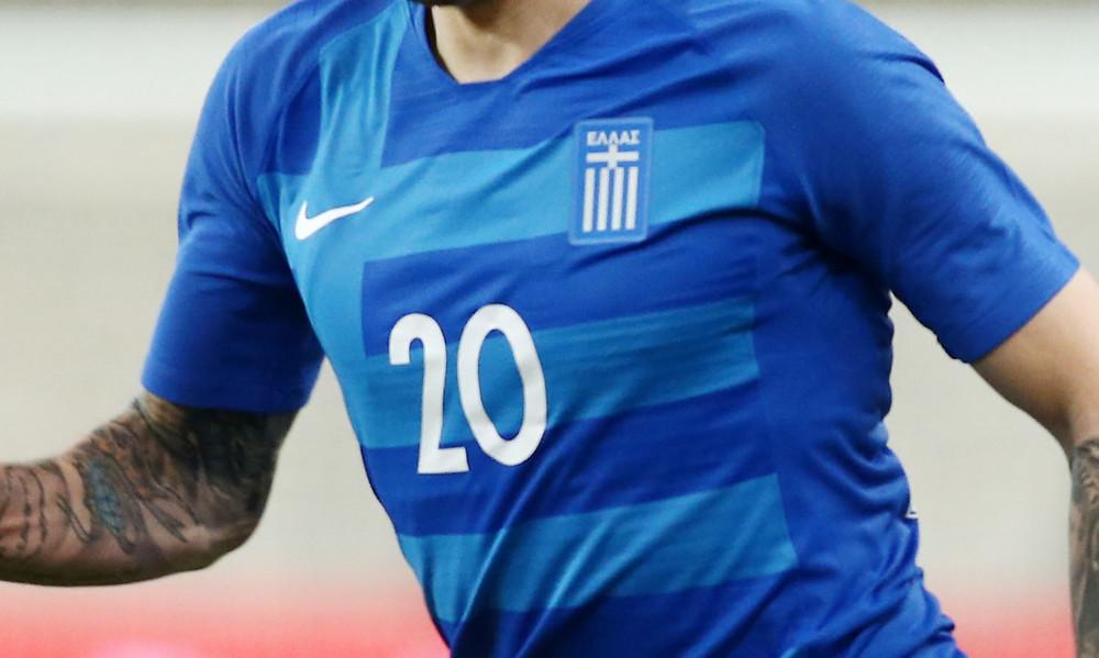 Με νέα εμφάνιση η Εθνική Ελλάδας (photos)