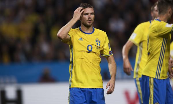 Βασικός ο Μπέργκ στην ήττα της Σουηδίας