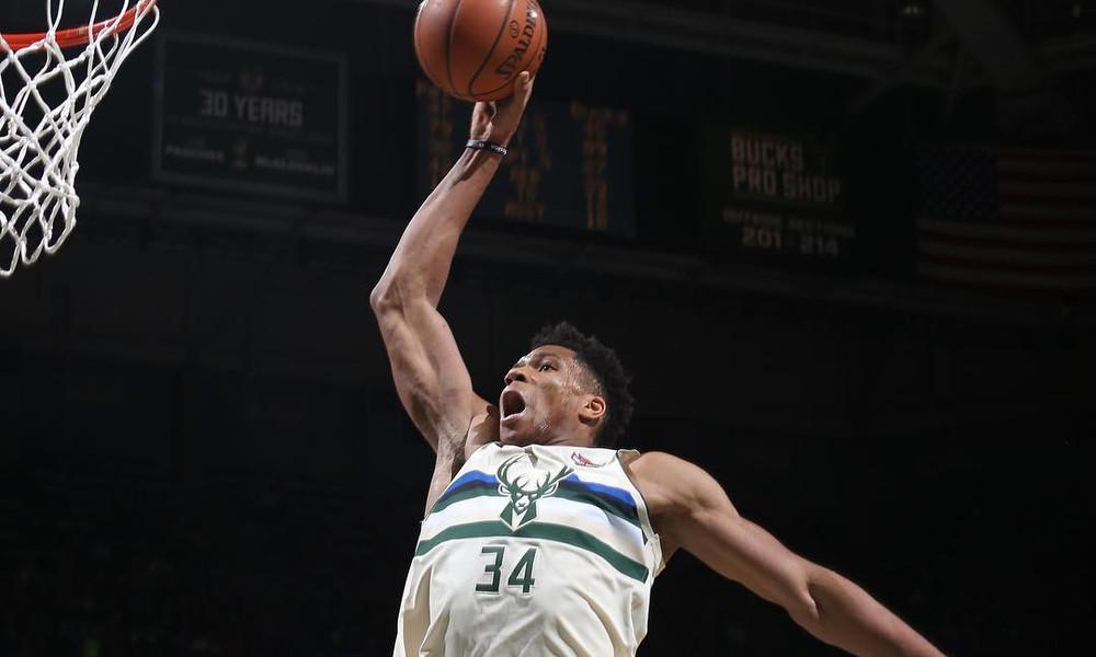 NBA: Τα… όργια Αντετοκούνμπο με τους Σπερς (video)