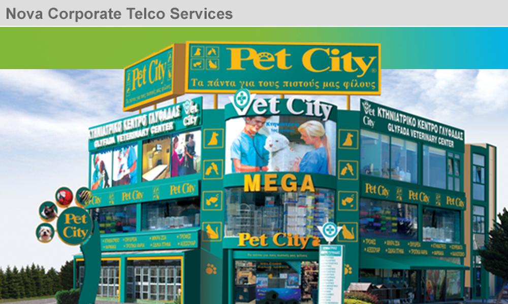 Συνεργασία Forthnet - Pet City για την παροχή τηλεπικοινωνιακών υπηρεσιών
