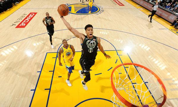 NBA: Τα μαγικά Αντετοκούνμπο με Ουόριορς (video)