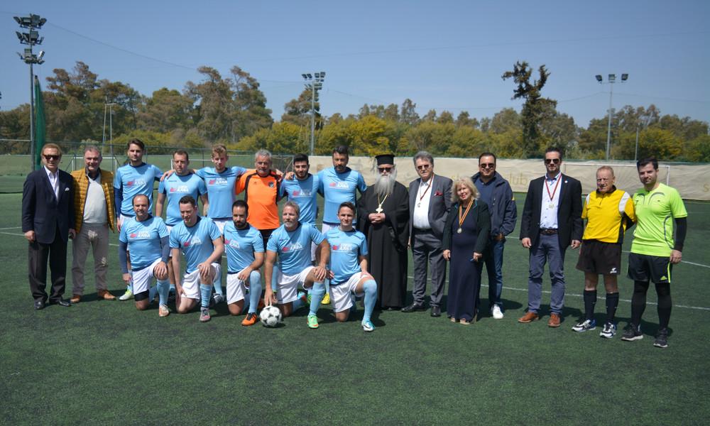 Μήνυμα αλληλεγγύης στο Φιλανθρωπικό Τουρνουά Ποδοσφαίρου από ΙΕΚ ΑΛΦΑ, ΕΡΤ και ΣΠΟΡ FM