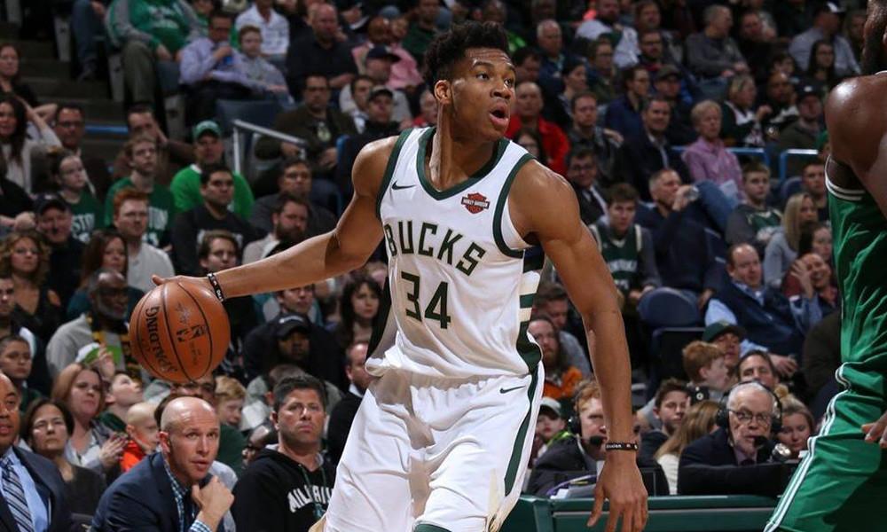 NBA: Διέλυσε τους Σέλτικς ο Αντετοκούνμπο και πάει play offs (video)