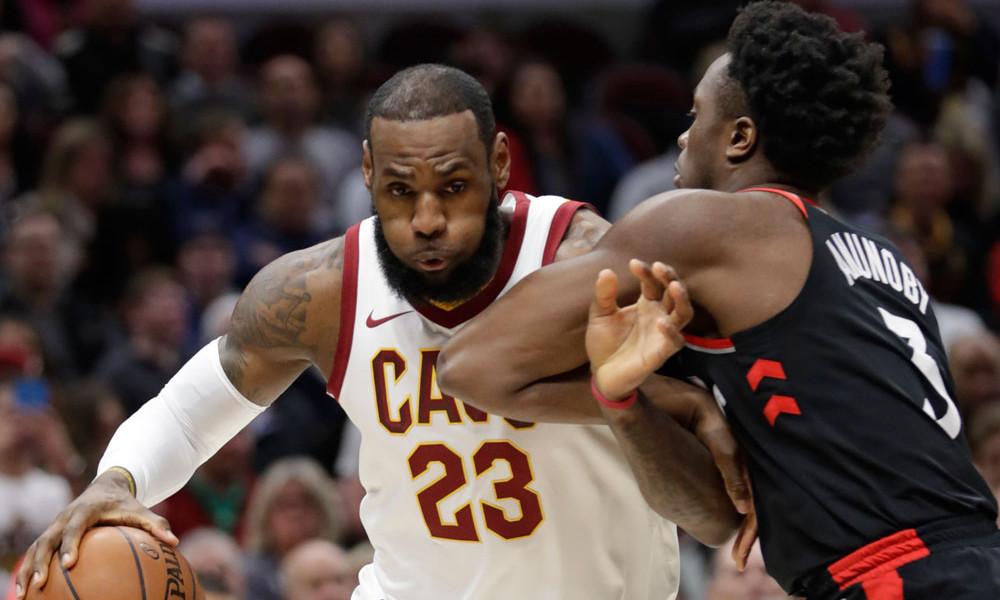 NBA: Ο ΛεΜπρόν Τζέιμς έβαλε… φρένο στους Ράπτορς