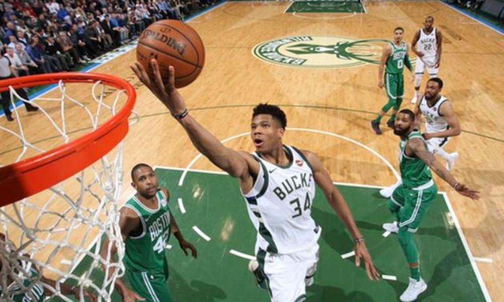 NBA: Τα μαγικά Αντετοκούνμπο με Σέλτικς (video)