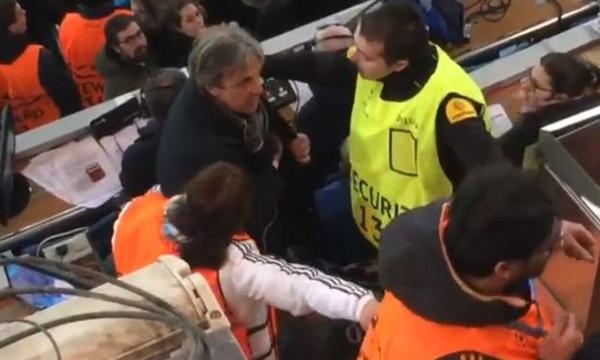 Ρεάλ Μαδρίτης - Γιουβέντους: Έδιωξαν Ιταλό δημοσιογράφο που κούναγε χαρτονομίσματα! (video)