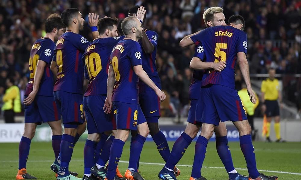 «Βροχή» τα γκολ στη Βαρκελώνη