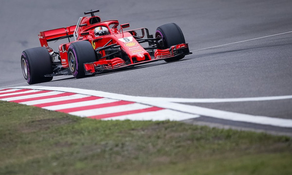 Formula 1: Poleman ο Φέτελ, κυριαρχία της Ferrari! (photos)