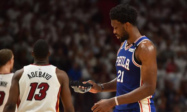 NBA: O Winslow προσπάθησε να σταματήσει τον Embiid με τον πλέον ΕΛΕΕΙΝΟ τρόπο
