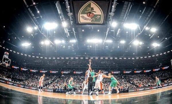 Ζαλγκίρις - Ολυμπιακός: Λιγότεροι οπαδοί στην «Zalgirio Arena»
