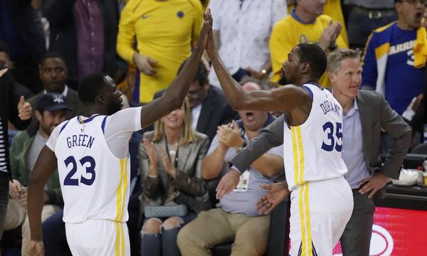 NBA: Στα ημιτελικά Ουόριορς και Σίξερς (videos)