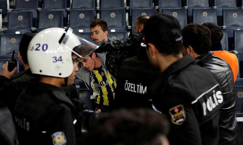 Χωρίς θεατές θα συνεχιστεί ο ημιτελικός κυπέλλου Φενέρμπαχτσε-Μπεσίκτας