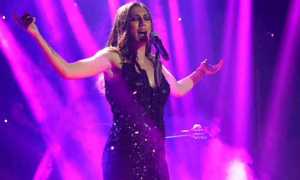 Η εκρηκτική εμφάνιση της Βασιλικής Νταντά on stage
