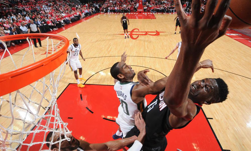 NBA: «Έσπασαν» το Χιούστον οι Τζαζ (photos+video)