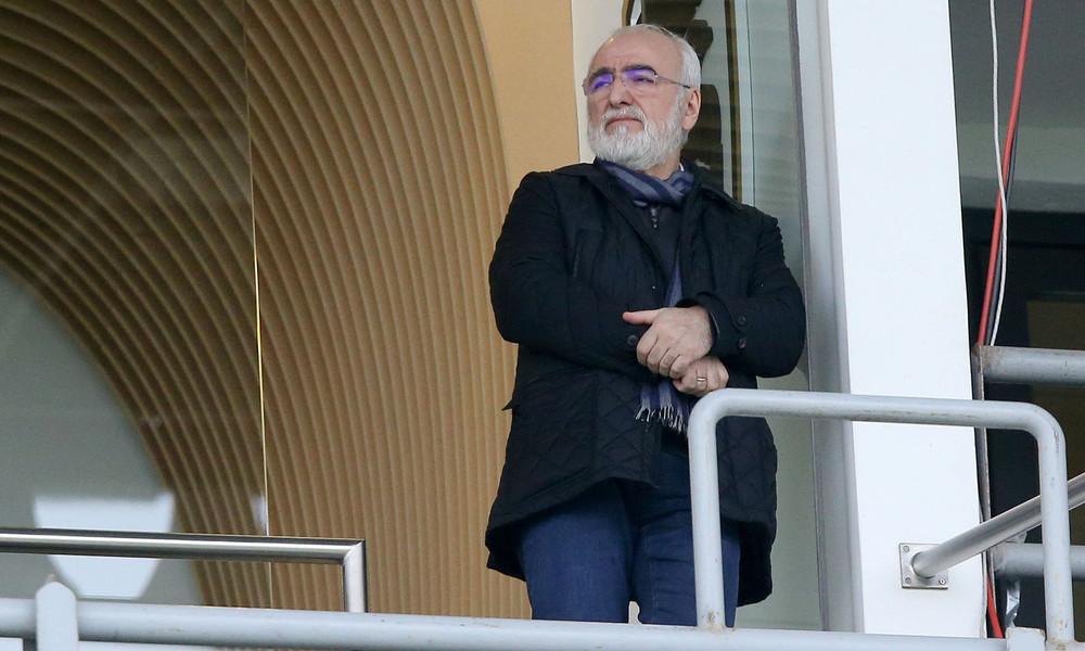 Ιβάν Σαββίδης: «Θα είμαι δίπλα σας και στον τελικό»