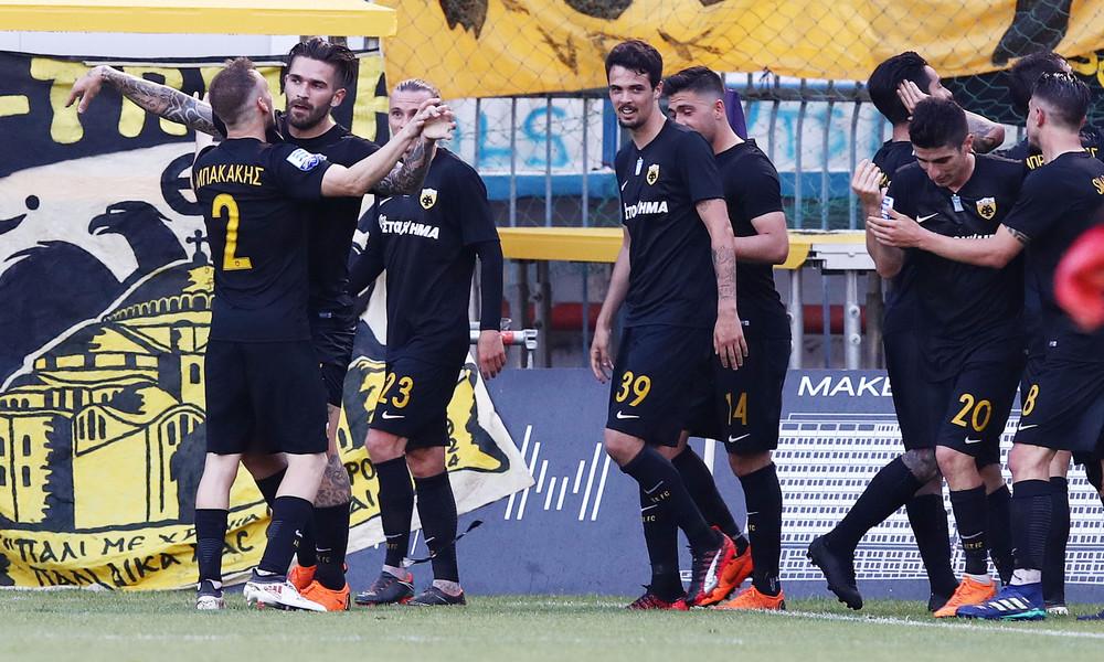 Απόλλων Σμύρνης-ΑΕΚ 0-1: Φινάλε με νίκη για την πρωταθλήτρια Ένωση