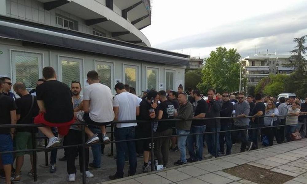ΠΑΟΚ: «Τρέλα» για τα εισιτήρια του τελικού με ΑΕΚ