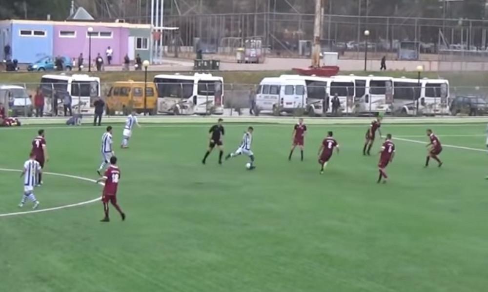 Αδιανόητo γκολ σε τοπικό πρωτάθλημα! (video)