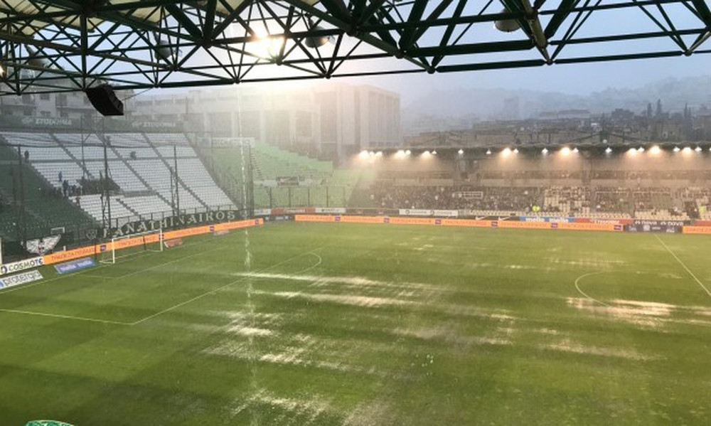 Οριστική διακοπή στο Παναθηναϊκός-Ξάνθη λόγω βροχής!