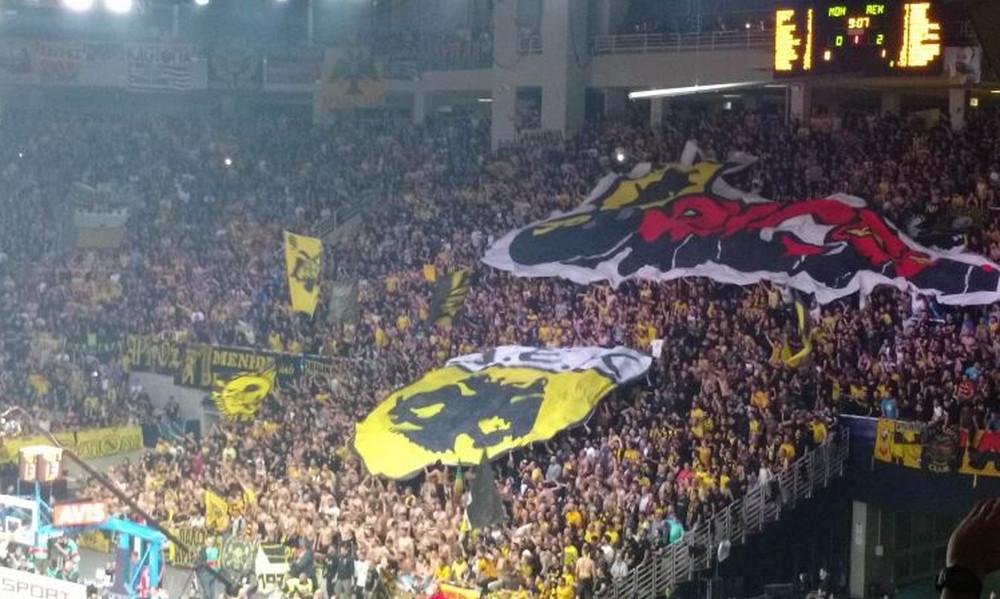 BCL Final-4: «Κιτρινόμαυρη»… τρέλα για την κούπα (videos+photos)