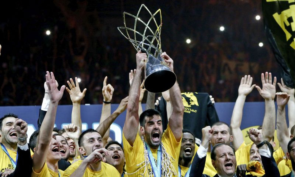 Basketball Champions League: Η απονομή στην ΑΕΚ (videos+photos)