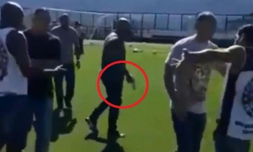 Βάσκο ντα Γκάμα: Έπεσαν πυροβολισμοί στην προπόνηση με εξαγριωμένους οπαδούς (photos+video)