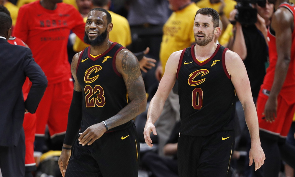 NBA: Έβγαλαν σκούπα οι Καβαλίερς (video)