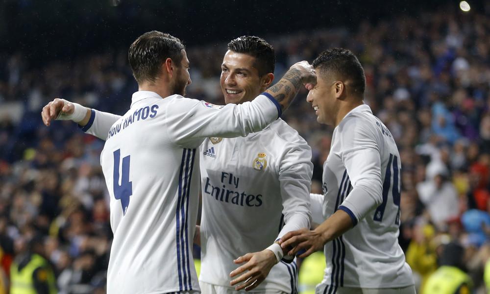 Πολλά γκολ στη Μαδρίτη