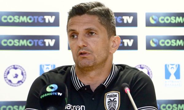 ΑΕΚ-ΠΑΟΚ: Λουτσέσκου: «Μας έκλεψαν αλλά είμαστε εδώ για να κερδίσουμε»
